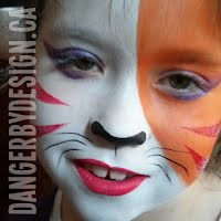 Color Kitty Face Paint