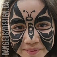 Native Art Face Painting