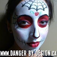 Candy Skull Face Painting